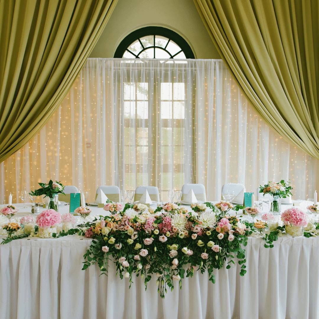 dekor pernikahan mewah