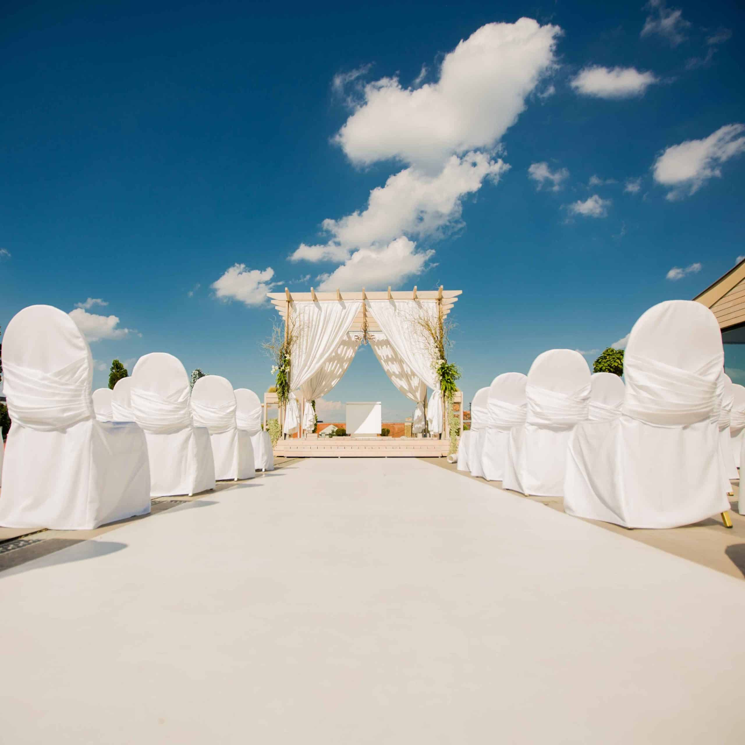 dekorasi pernikahan adat jawa modern